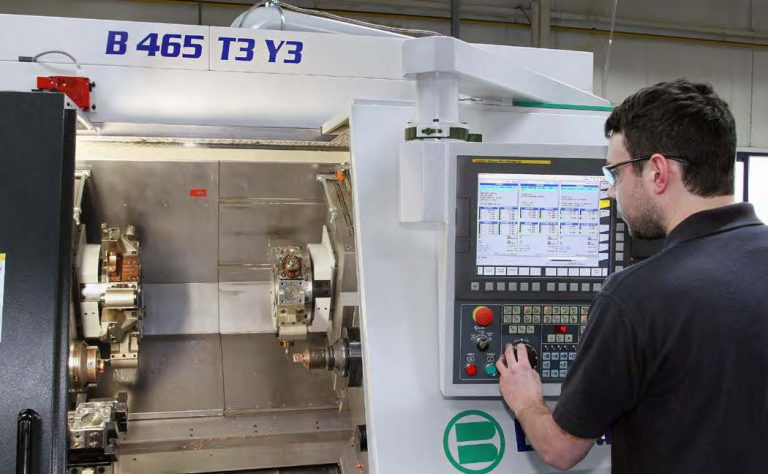 TRIPLE-TURRET TURNING MACHINE INCREASES PRODUCTIVITY BY 86